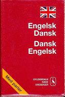 Engelsk dansk Dansk engelsk Ordbog