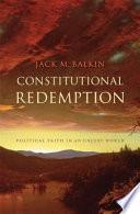 Constitutional Redemption Pdf/ePub eBook