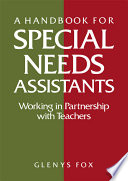 A Handbook for Special Needs Assistants