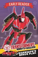 Transformers Early Reader  Sideswipe s Brave Plan