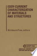 Eddy Current Characterization of Materials and Structures