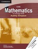Core Mathematics for Cambridge IGCSE