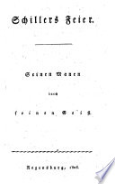 Schillers Feyer