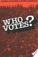 Who Votes