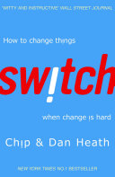 Switch : all know that change is hard. it's unsettling,...