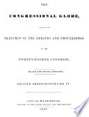 The Congressional globe  afterw   record  23rd      Congress