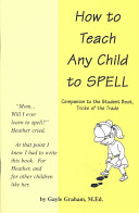 How To Teach Any Child To Spell : ...