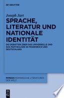 Sprache, Literatur und nationale Identität