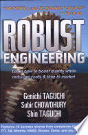 Robust Engineering  Learn How to Boost Quality While Reducing Costs   Time to Market