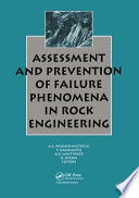 assessment and prevention of failure phenomena in rock engineering