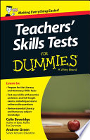 Teacher s Skills Tests For Dummies