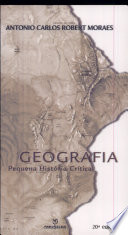 Geografia: Pequena Historia Critica