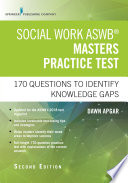 Social Work ASWB Masters Practice Test  Second Edition