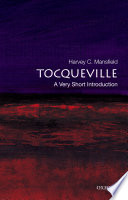 Tocqueville  A Very Short Introduction