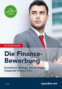 Die Finance-Bewerbung