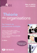 Th  orie des organisations