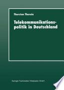 Telekommunikationspolitik in Deutschland