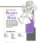 Beauty and the Beast Read Along Format This Audio Presentation Of