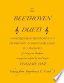 The Beethoven Duets For Flute Volume 1 Scherzi 1  2 and 3