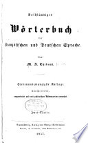 Nouveau dictionnaire franais-allemand et allemand-francais