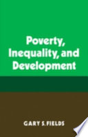 Poverty  Inequality  and Development