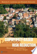 Community Based Landslide Risk Reduction