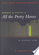 Cormac McCarthy s All the Pretty Horses