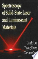 Spectroscopy of Solid-state Laser and Luminescent Materials