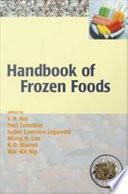 Handbook Of Frozen Foods book