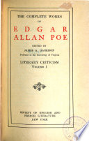 The Complete Works of Edgar Allan Poe  Literary criticism