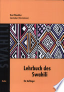 Lehrbuch des Swahili f  r Anf  nger
