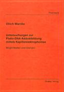 Untersuchungen zur Platin-DNA-Adduktbildung mittels Kapilarelektrophorese
