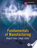 Fundamentals of Manufacturing  Third Edition