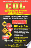 The Best Home Study Guide for the CDL Commercial Driver License Examination