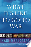 What It Is Like To Go To War book