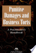 Punitive Damages And Business Torts
