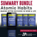 Summary Bundle   Atomic Habits: Making Better Decisions in Work & Life Book