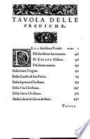 Il primo   terzo  libro delle Prediche del     Mons  Cornelio Musso