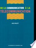 De la communication    la t  l  communication