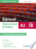 Edexcel A2 Government   Politics Student Unit Guide New Edition  Unit 3B Introducing Political Ideologies