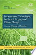 Environmental Technologies Intellectual Property And Climate Change