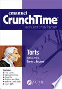 Emanuel CrunchTime for Torts