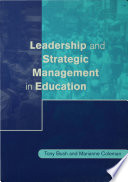 Leadership and Strategic Management in Education