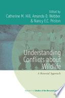 Understanding Conflicts about Wildlife