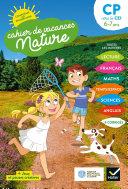 Cahier de vacances Nature du CP au CE1
