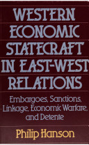 Western Economic Statecraft in East-West Relations