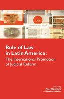 Rule of Law in Latin America