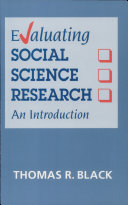 Evaluating Social Science Research
