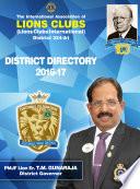 Lions 324A1 Centennial Directory (2016-17) Pdf/ePub eBook