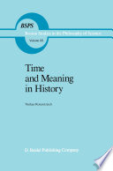 Time and Meaning in History